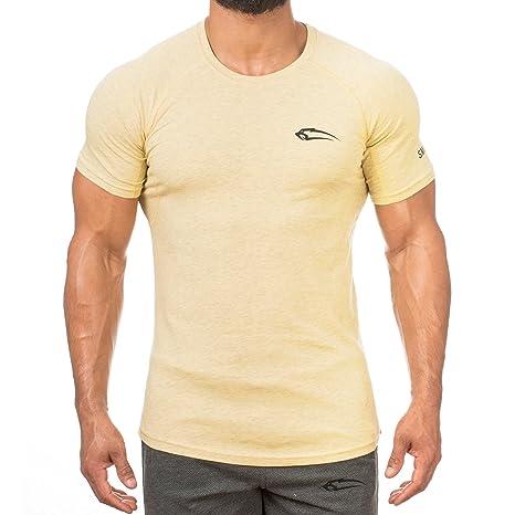 Smilodox Slim Fit T Shirt Herren Kurzarm Funktionsshirt Fur Sport