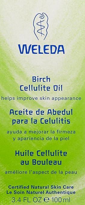 Weleda birch cellulite oil recension