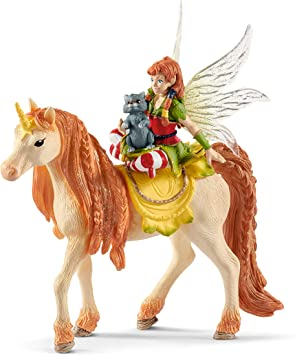 SCHLEICH Bayala Fée Elfes avec Princesse Licorne Toy Figure 70569