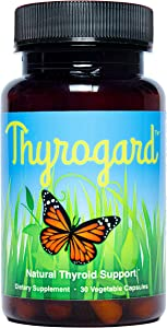 Thyrogard - Natural Thyroid Support Supplement - Non-GMO, Vegan, Gluten-Free