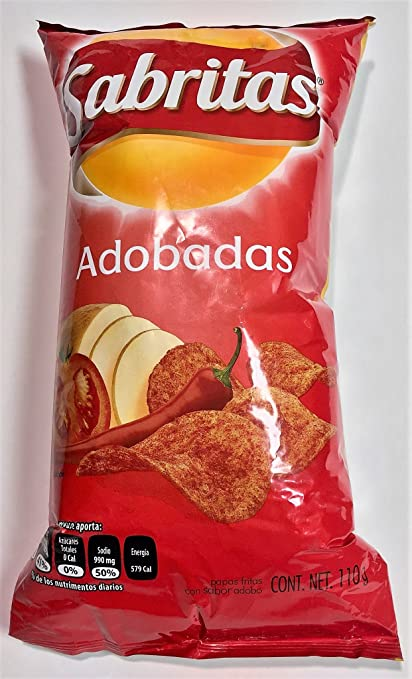 Sabritas Botanas Mexicanas (Adobadas, Big): Amazon.com: Grocery & Gourmet Food