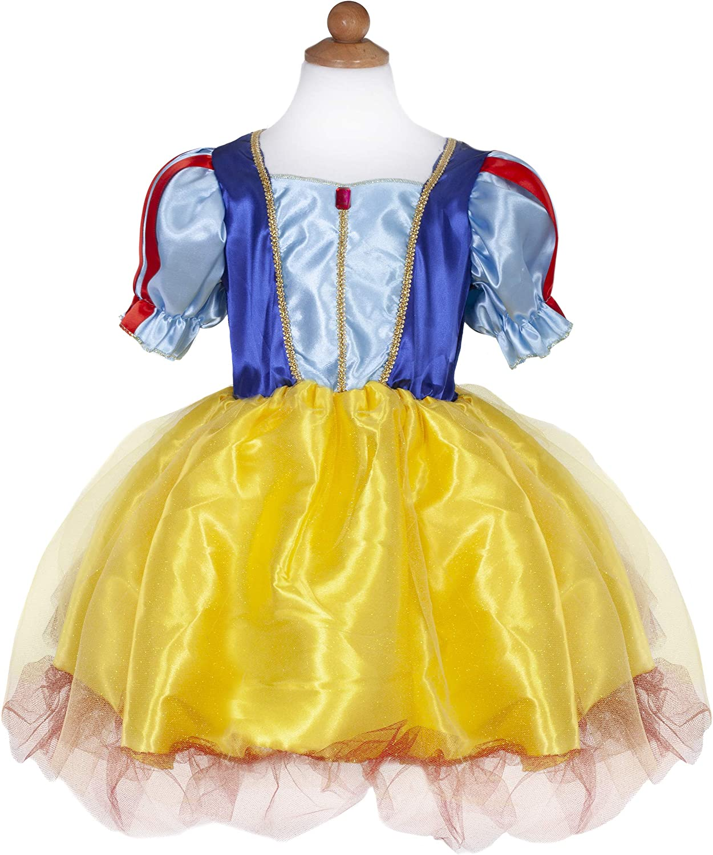 Great Pretenders 39405, Snow White Tea Party Dress, Yellow, US Size 5-6