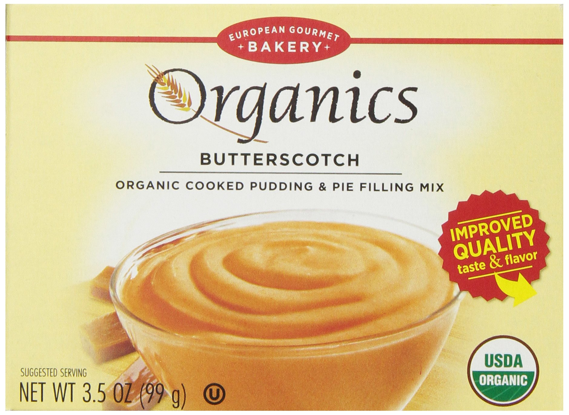 Amazon Dr Oetker Organics Pudding Mix Butterscotch 35