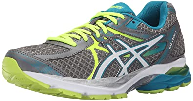 ASICS Women's Gel-Flux 3 Running Shoe, Titanium/White/Enamel Blue,