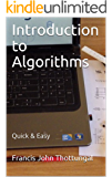 Introduction to Algorithms: Quick & Easy