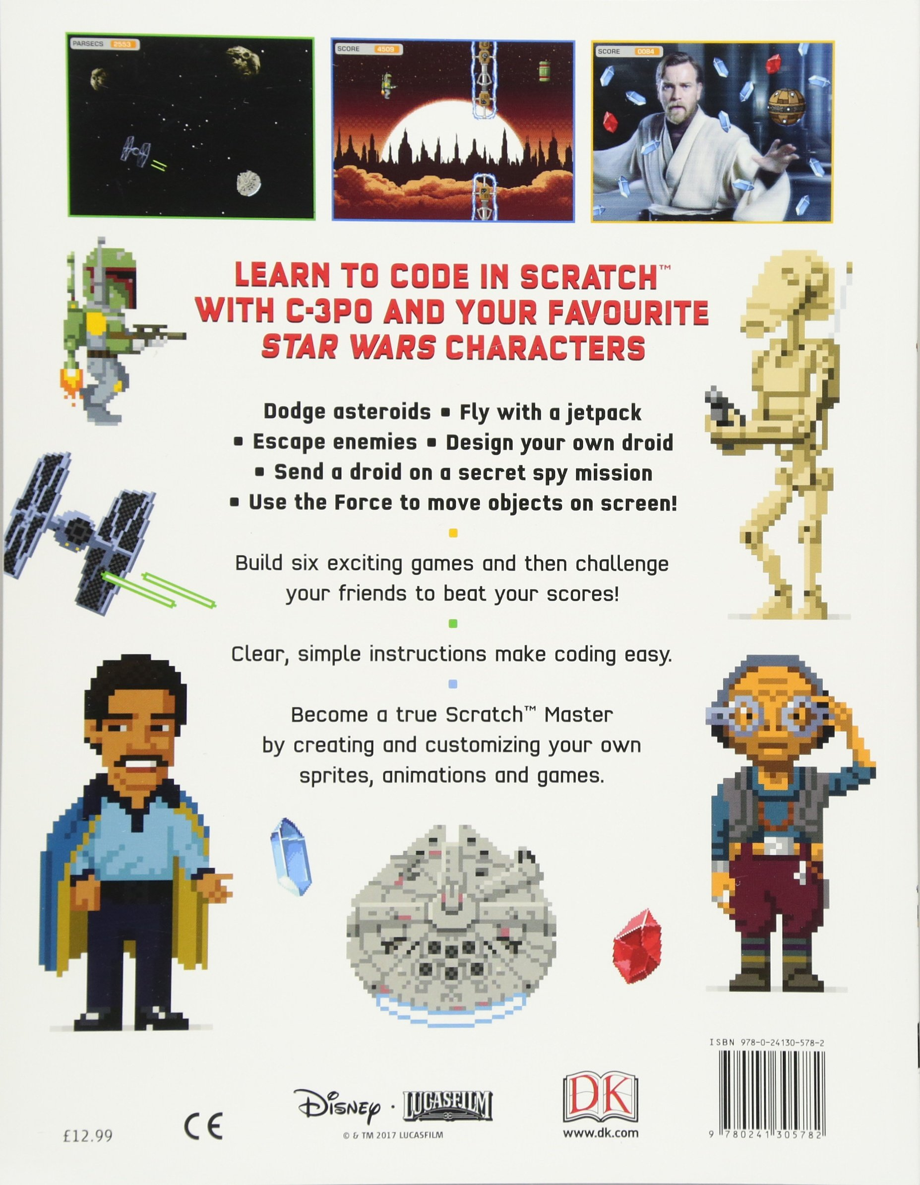 star wars coding projects a step by step visual guide to coding