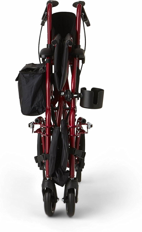 Amazon.com: Medline Red Combination - Silla de ruedas y ...