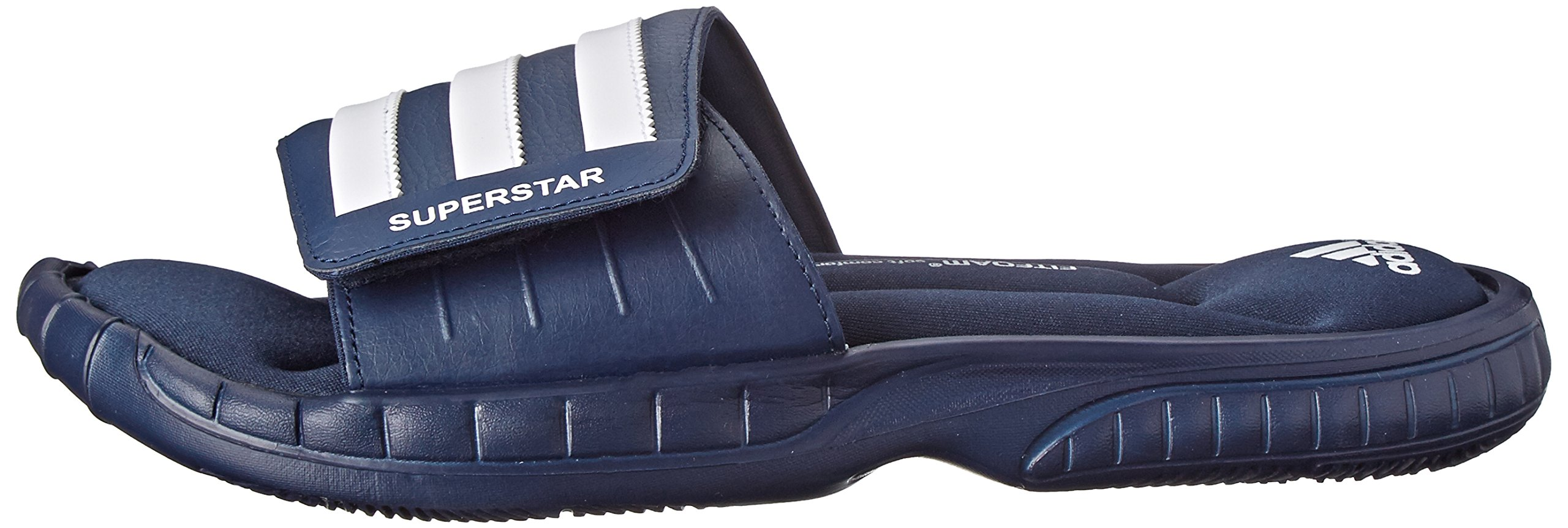 53a712294016 adidas Performance Men s Superstar 3G Slide Sandal