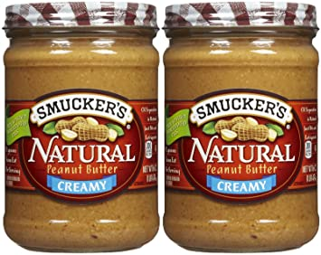 How many calories in smuckers all natural peanut butter — pic 1
