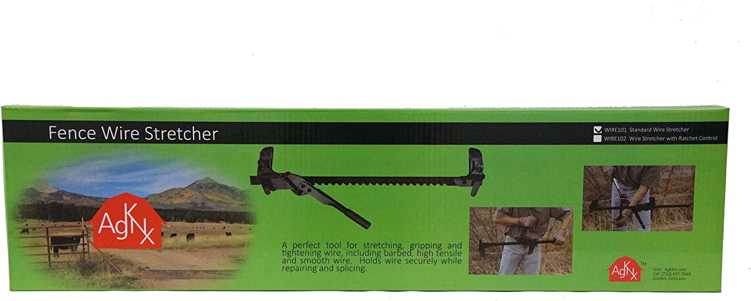 For Releasing Fence Wire RanchEx 102571 Wire Stretcher With Ratchet Control