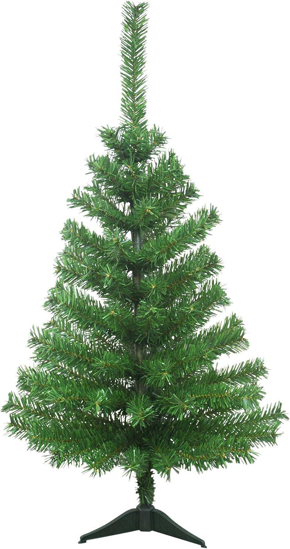 Sapin de No/Ã/«l artificiel Canada 90 branches hauteur 90 cm vert