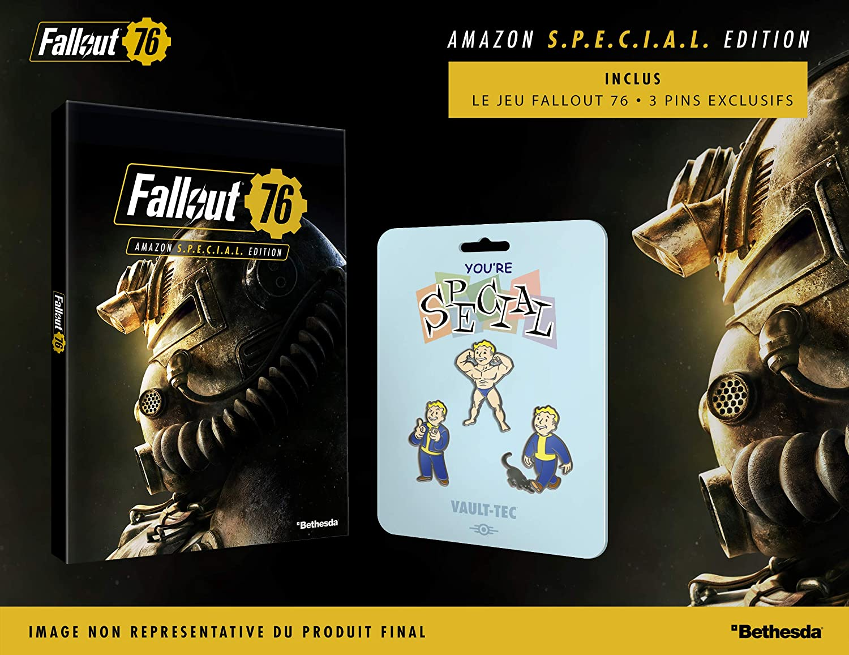 Fallout 76 - Amazon S P E C I A L édition (3 pins): PlayStation 4