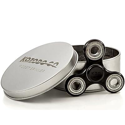 Tri-Spinner Si3N4 Hybrid Ceramic High Speed Bearings