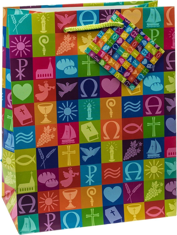 23/x 18/x 10/cm dimensioni: medio 12er Confezione TSI 87018/sacchetto regalo CRESIMA//comunione