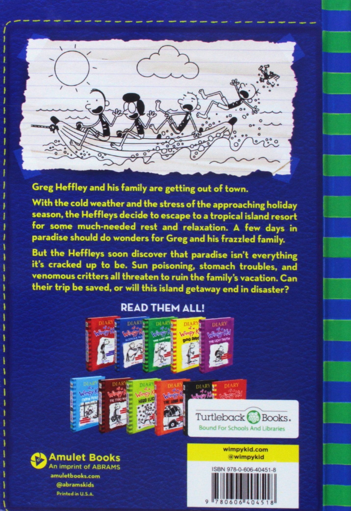 The Getaway Turtleback School Library Binding Edition Diary Of A Wimpy Kid Kinney Jeff 9780606404518 Amazon Com Books