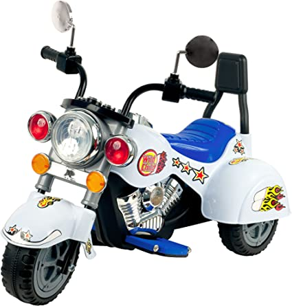 Amazon.com: Ride On Toy, 3 Rueda Trike Chopper Motocicleta ...