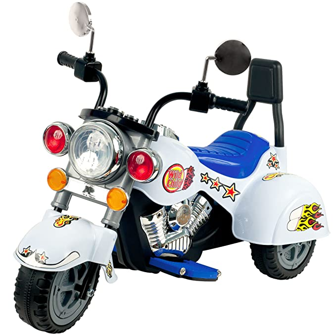 Amazon.com: Ride On Toy, 3 Rueda Trike Chopper Motocicleta ...