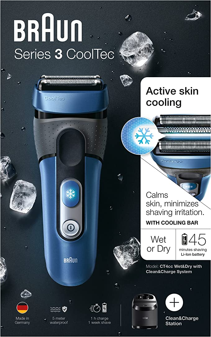 Braun Series 3 - °CoolTec CT4cc, maquinilla de afeitar: Amazon.es ...