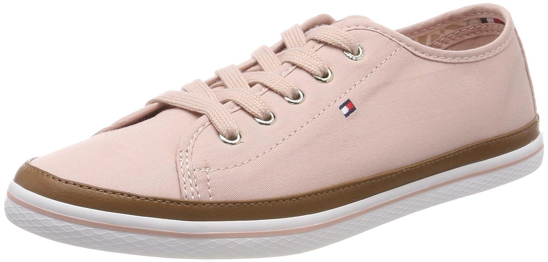 Tommy Hilfiger Iconic Kesha Sneaker, Zapatillas para Mujer 38 EU|Rosa (Dusty Rose 502)