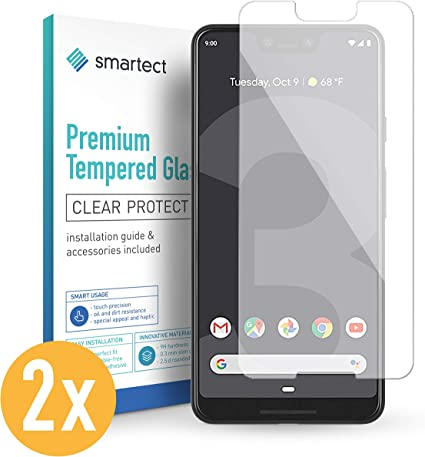 smartect Cristal Templado para Móvil Google Pixel 3 XL [2 Unidades ...