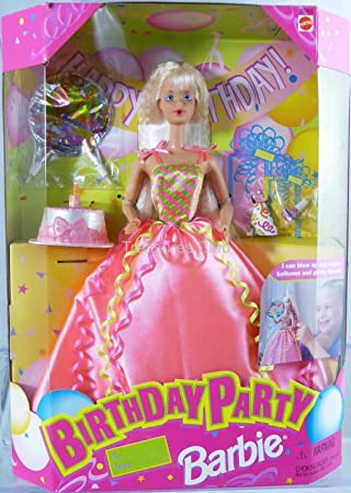 Amazon.es: Barbie Birthday Party Doll Can Blow up Party ...