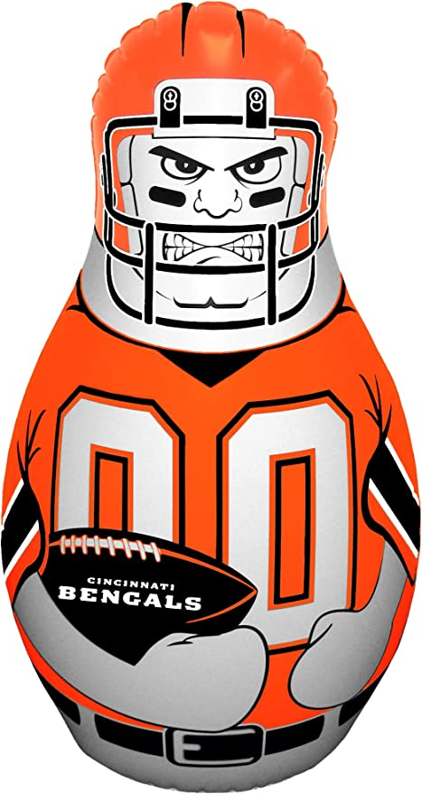 Amazon.com: Cincinnati Bengals NFL Tackle Buddy hinchable de ...