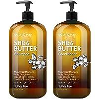 MAJESTIC PURE Shea Butter Shampoo and Conditioner Set, Moisturizing & Nourishing...