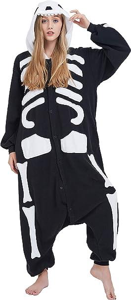 Kigurumi Adulto Pigiama Anime Cosplay Costume di Halloween Unisex Outfit