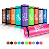 Yoga Mat with Carry Handle Pilates Gym Fitness Exercise 15mm Thick High Density Large Padded NBR Mat