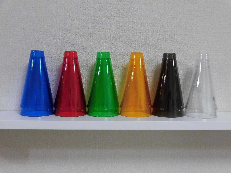 【リハビリ用】 スタッキングコーン <アクリルコーン12pcs(6色×各2個) ベースなし> [並行輸入品] B01BNAPECE