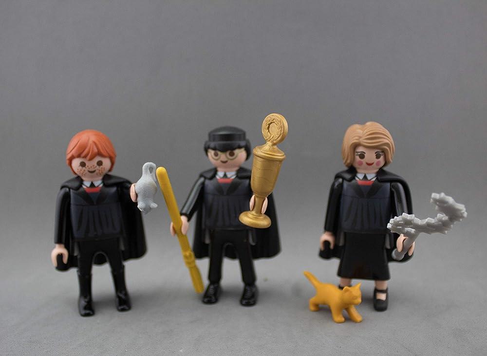 Click playmobil customizado Harry Potter , Hermione y Ron ...
