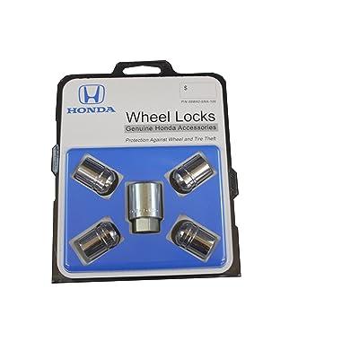 Honda Genuine Accessories 08W42-SNA-100 Alloy Wheel Lock: Automotive [5Bkhe0416516]