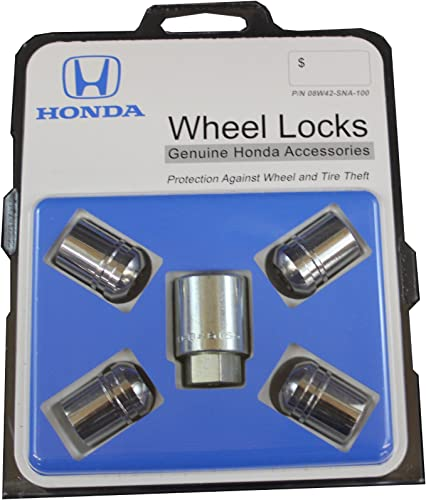 Honda Genuine Accessories 08W42-SNA-100 Alloy Wheel Lock