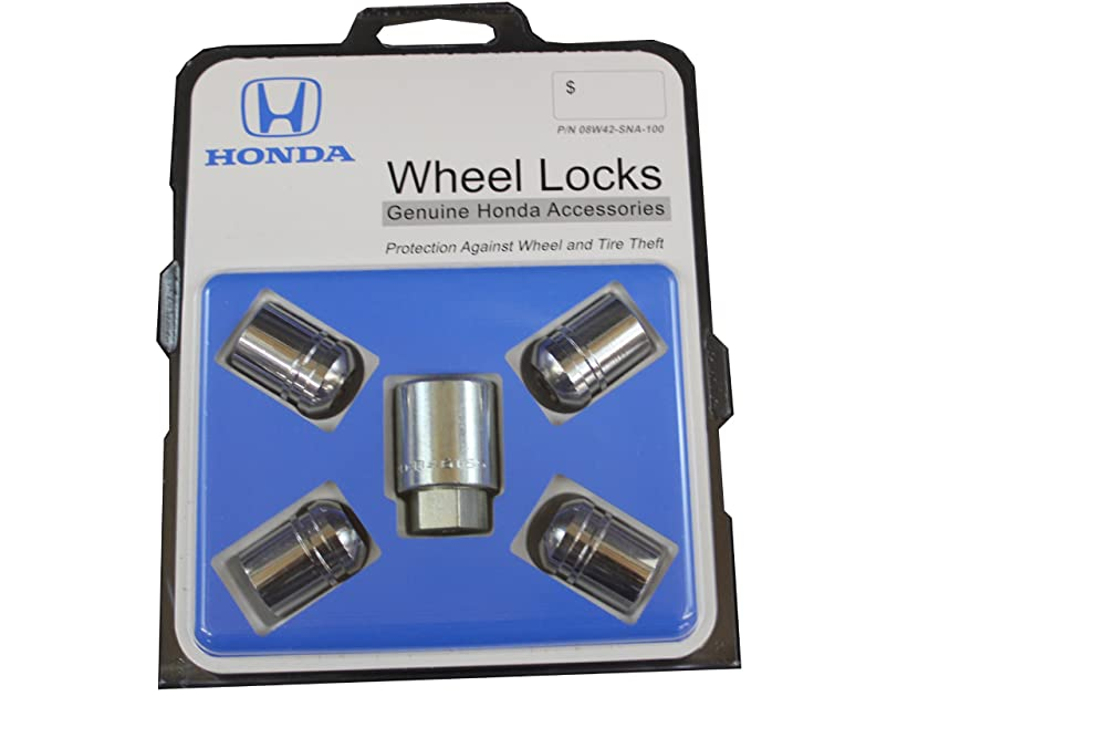 Genuine Honda Accessories 08W42-SNA-100 Alloy Wheel Lock