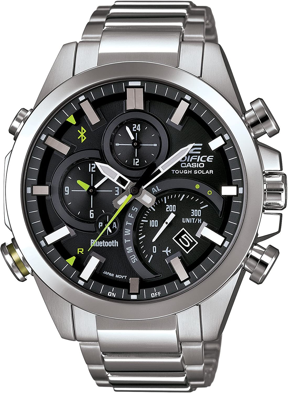 CASIO Mens Watch EDIFICE BLUETOOTH SMART corresponding EQB-500D-1AJF