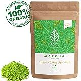 ORGANIC Japanese Matcha Green Tea Powder - 100 Grams - 200 Serves - CEREMONIAL GRADE Matcha Green Tea Powder - Ideal for Matcha Latte, Smoothies, Baking, Ice Cream