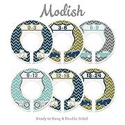 Modish Labels Baby Nursery Closet Dividers, Closet Organizers, Nursery Decor, Vintage Cars, Retro Cars, Uptown Traffic Nursery Decor