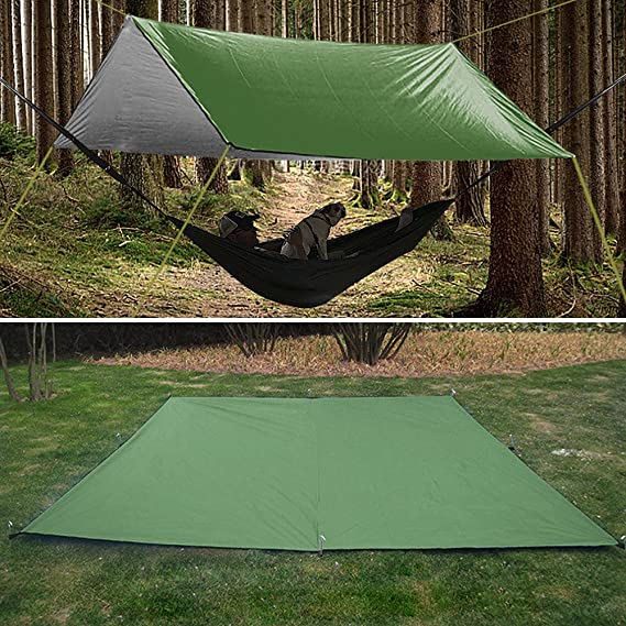 impermeable port/átil Lona de acampada para exteriores plegable toldo para playa SunshineFace resistente a los rayos UV
