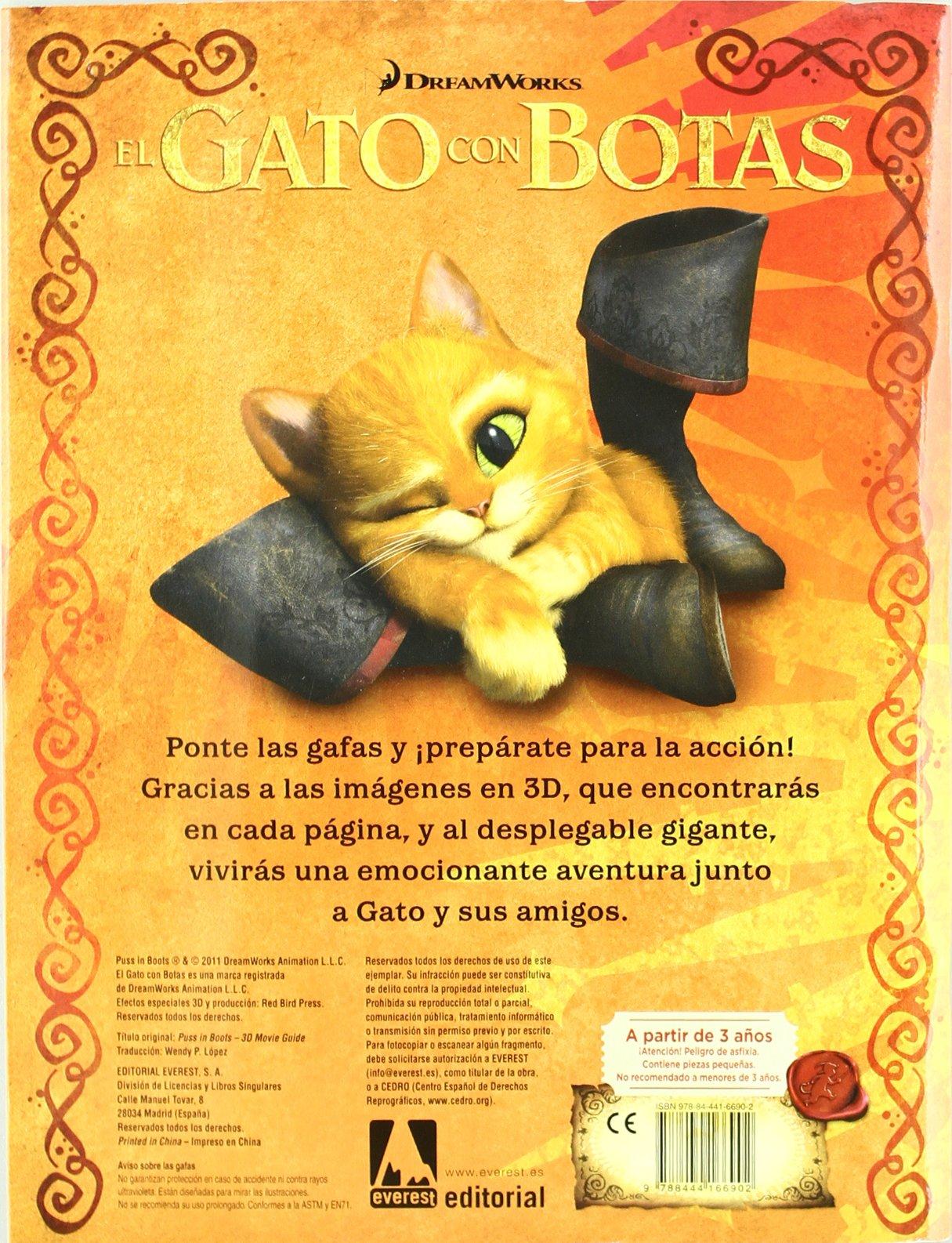 El gato con botas. Guia de la película: Amanda; DreamWorks Díaz Cobo: 9788444166902: Amazon.com: Books