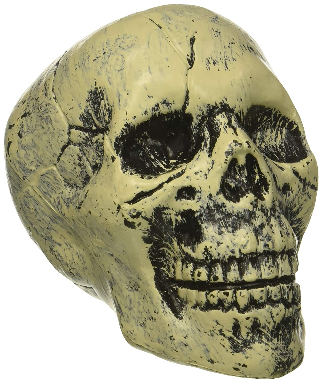 Loftus International Loftus 13 Bag of Skulls Halloween Decoration Props White Black 6 Pack 5Novelty Item