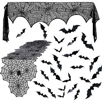 Amazon.com: Juego de 26 piezas de decoración para Halloween ...