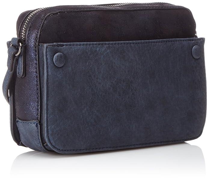 Bulaggi Damen Mariyah Shoulderbag Schultertaschen, Blau (Blue 43), 22x15x6  cm: Amazon.de: Schuhe & Handtaschen