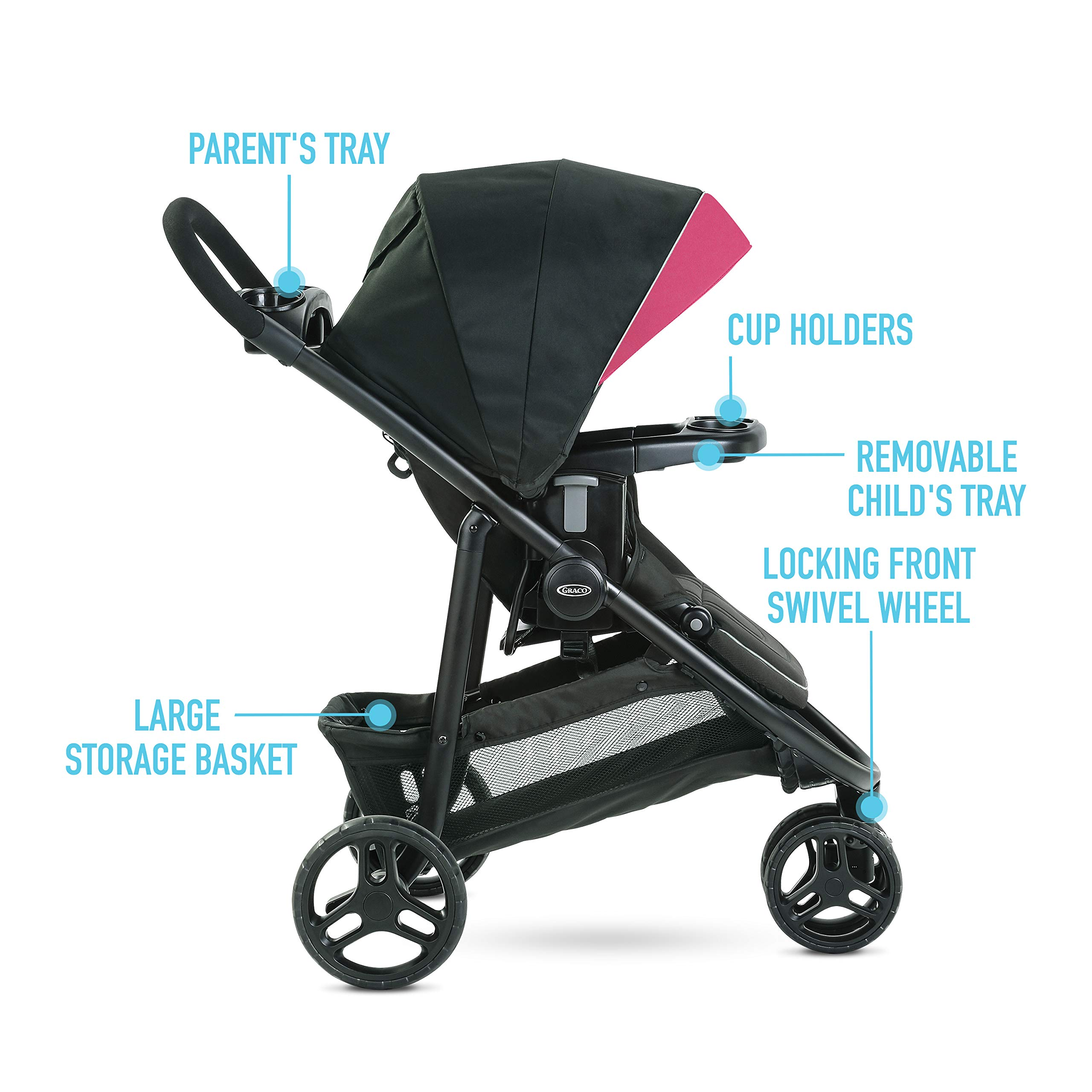 Graco Modes 3 Lite DLX Travel System, Arbis by Graco (Image #5)