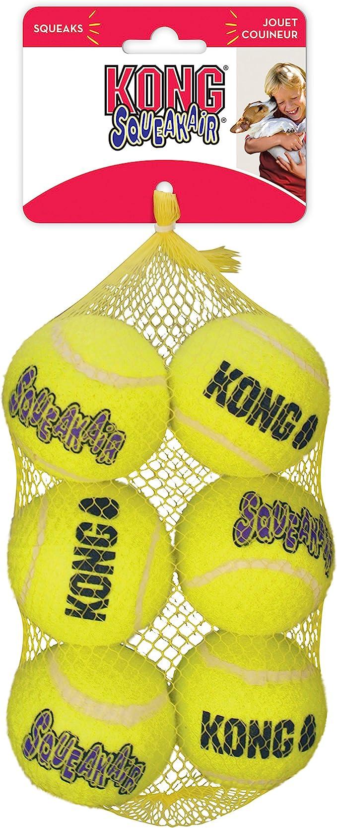 KONG - Squeakair Ball - Pelotas de Tenis sonoras Que respetan Sus ...