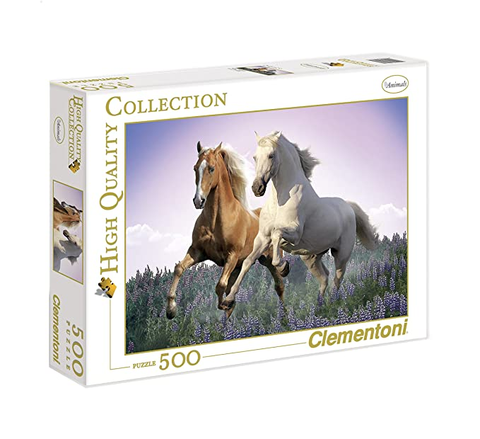150 opinioni per Clementoni Puzzle 30287- Free Horses- 500 pezzi High Quality Collection