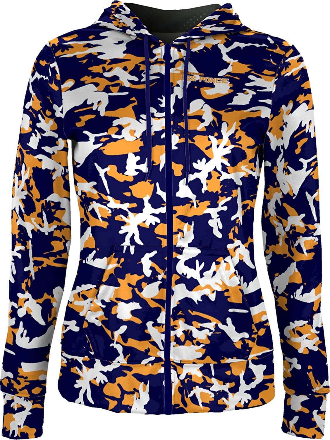 ProSphere Women's USS Ponce Military Camo Fullzip Hoodie