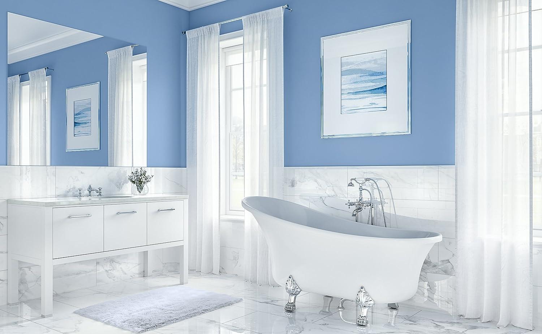 Laguna UB006-6327 Freestanding Acrylic Soaking Bathtub 63\