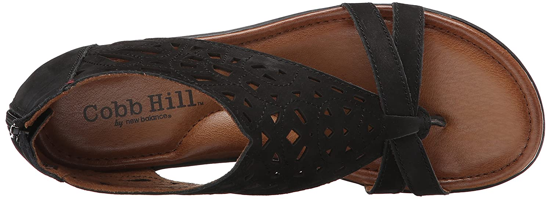 8339ac6d732161 New Balance Cobb Hill Women s Jordan-CH Flat Sandal Grey  Amazon.ca  Shoes    Handbags