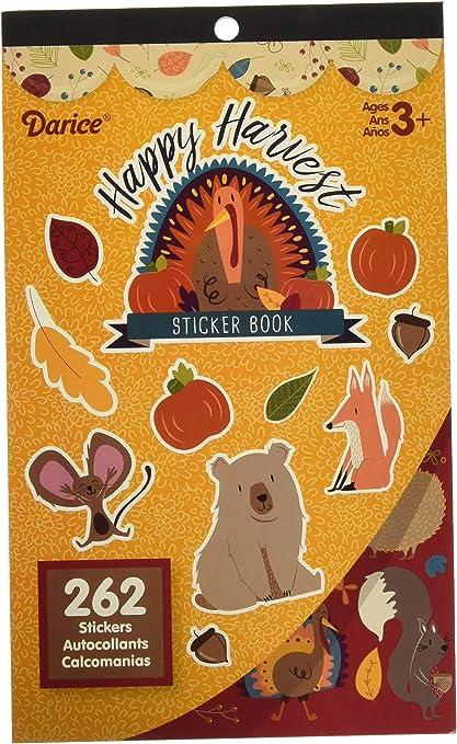 586 Stickers Fall Harvest Sticker Books