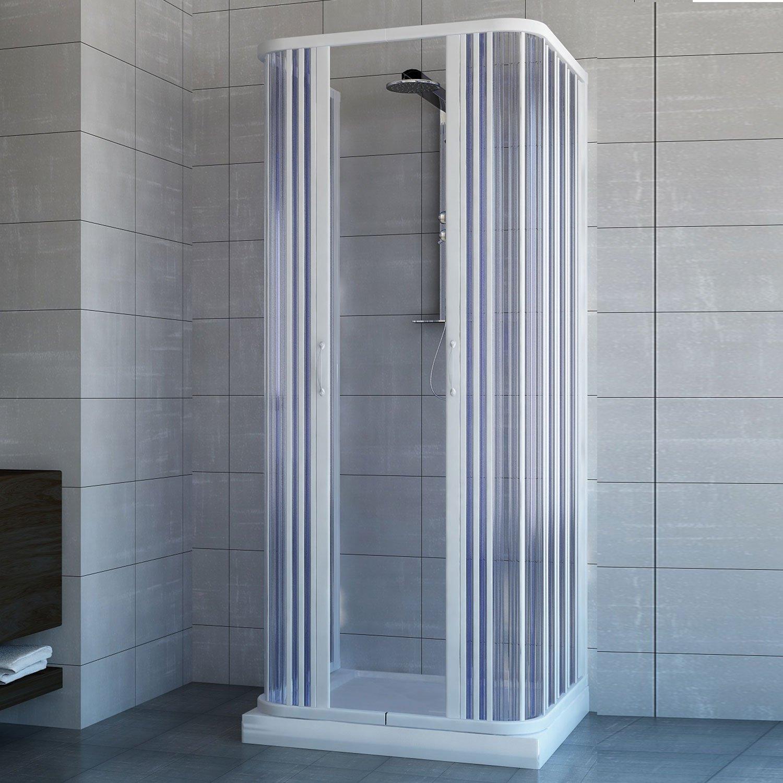 cabine de douche 3 cotes vitres